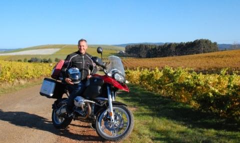 David at Pipers Brook, Northern Tasmania